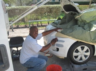 Auto Scratch Repair Car Paint Repair Mobile Auto Body Repair